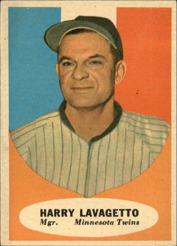 1961 Topps #226 Cookie Lavagetto MG