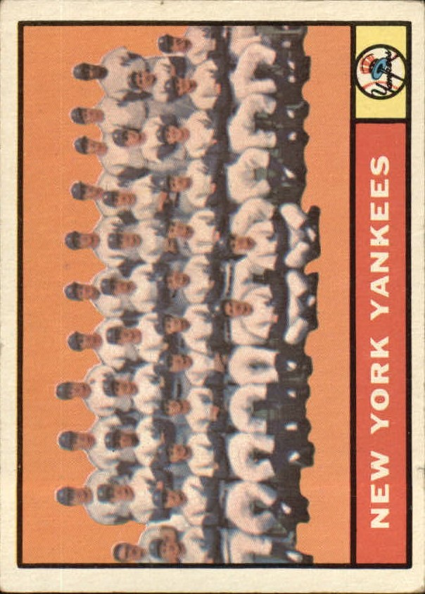 1961 Topps #228 New York Yankees TC