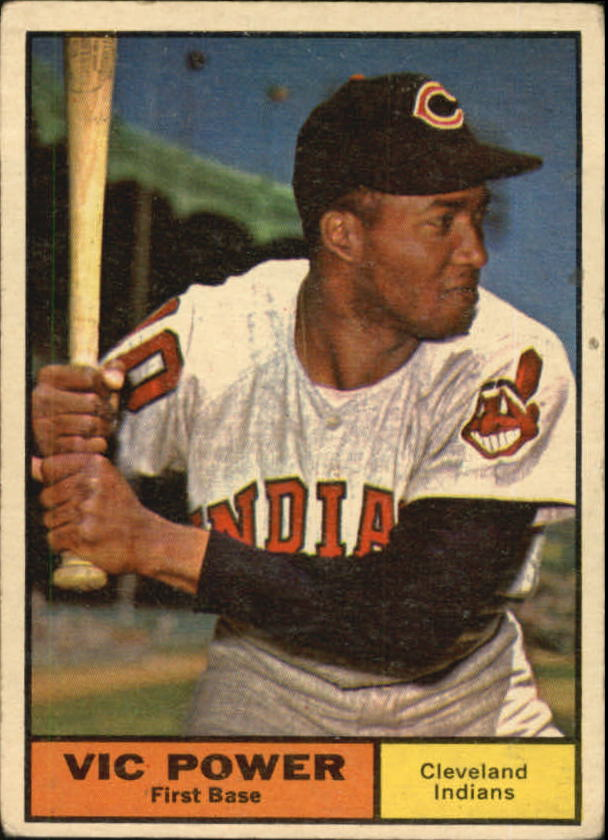 1961 Topps #255 Vic Power