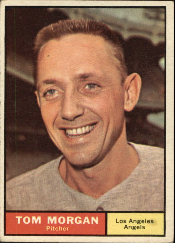 1961 Topps #272 Tom Morgan