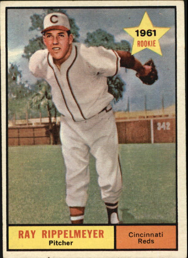 1961 Topps #276 Ray Rippelmeyer RC