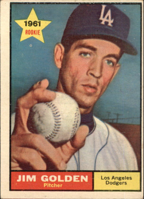 1961 Topps #298 Jim Golden RC