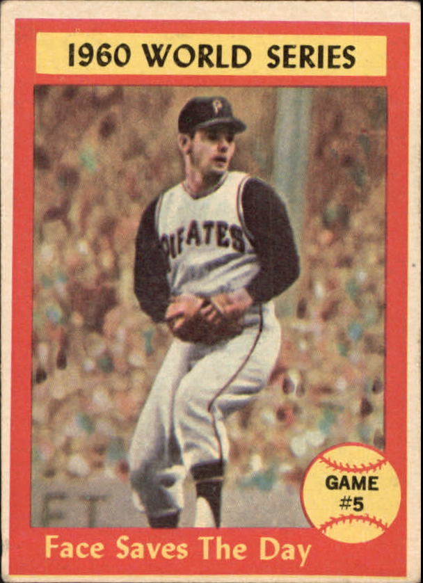 1961 Topps #310 World Series Game 5/Roy Face