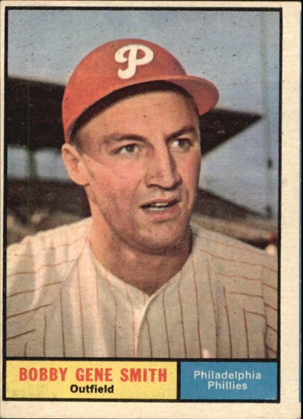 1961 Topps #316 Bobby Gene Smith