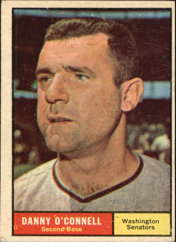 1961 Topps #318 Danny O'Connell