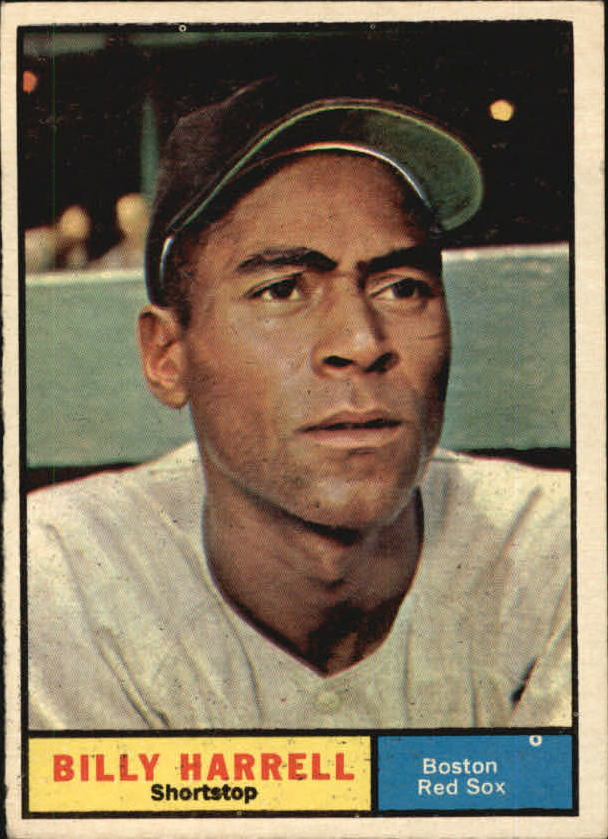 1961 Topps #354 Billy Harrell