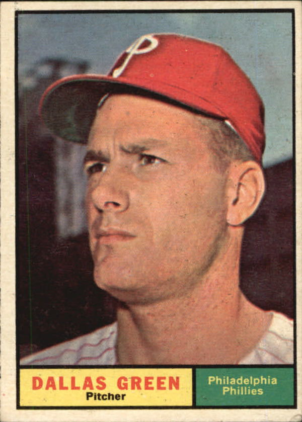 1961 Topps #359 Dallas Green