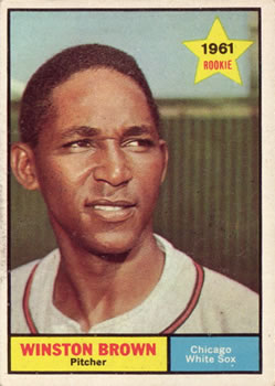 1961 Topps #391 Winston Brown RC