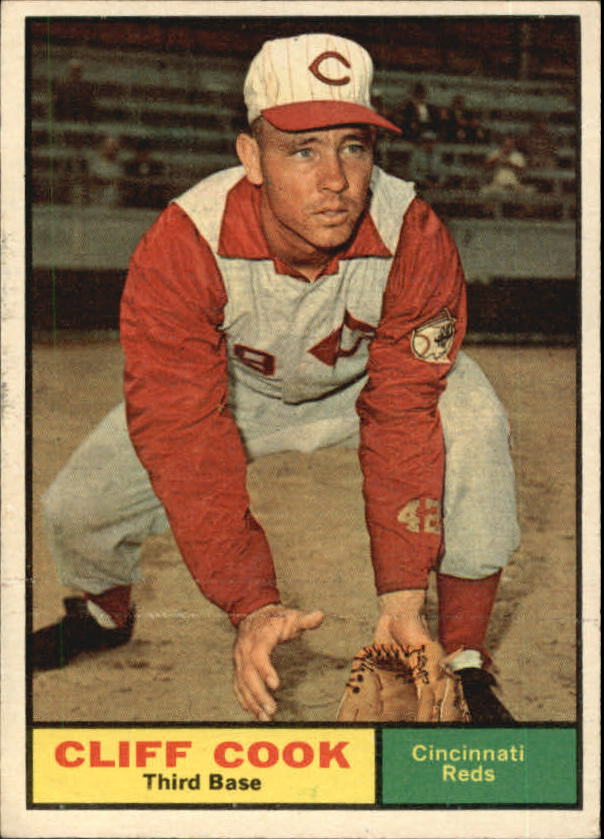 1961 Topps #399 Cliff Cook RC