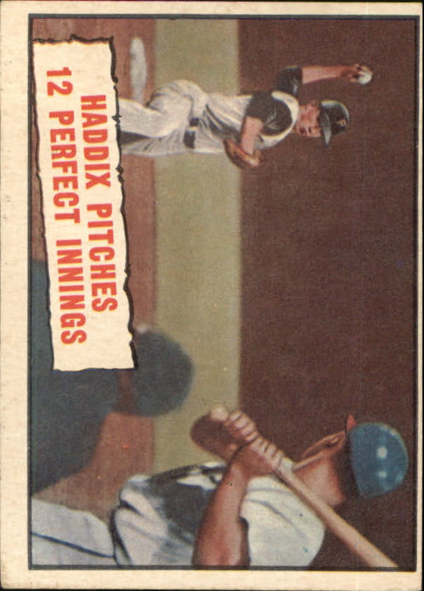 1961 Topps #410 Harvey Haddix 12 Perfect