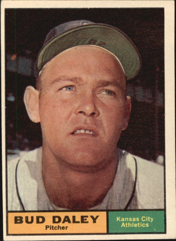 1961 Topps #422 Bud Daley
