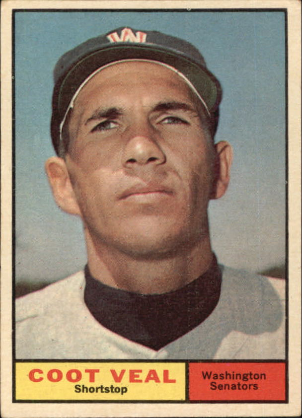 1961 Topps #432 Coot Veal