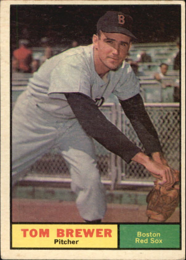 1961 Topps #434 Tom Brewer