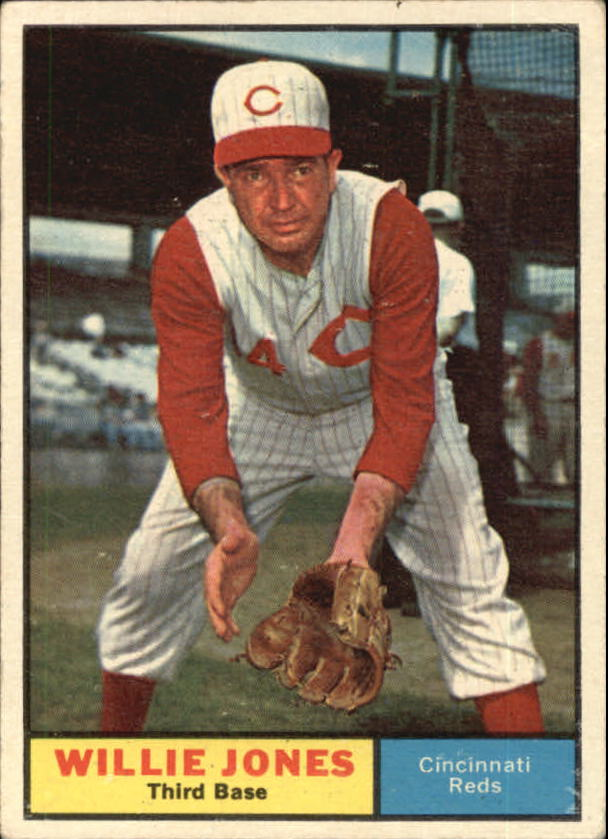 1961 Topps #497 Willie Jones