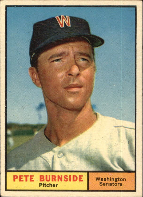 1961 Topps #507 Pete Burnside