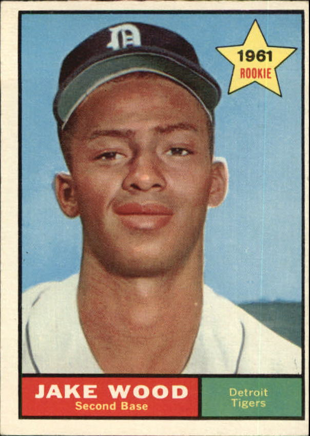 1961 Topps #514 Jake Wood RC