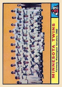 1961 Topps #542 Minnesota Twins TC