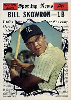 1961 Topps #568 Bill Skowron AS