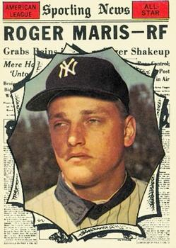1961 Topps #576 Roger Maris AS