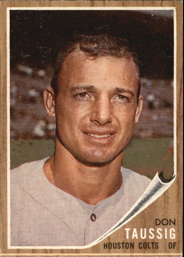 1962 Topps #44 Don Taussig RC