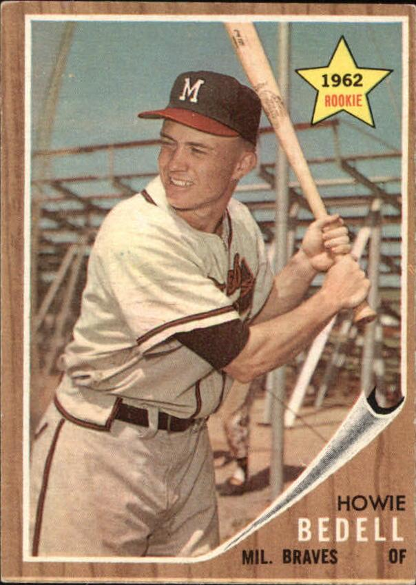 1962 Topps #76 Howie Bedell