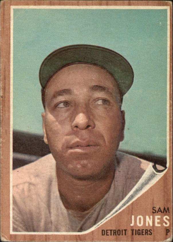 1962 Topps #92 Sam Jones front image