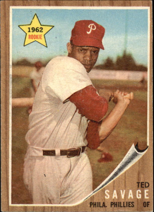 1962 Topps #104 Ted Savage RC
