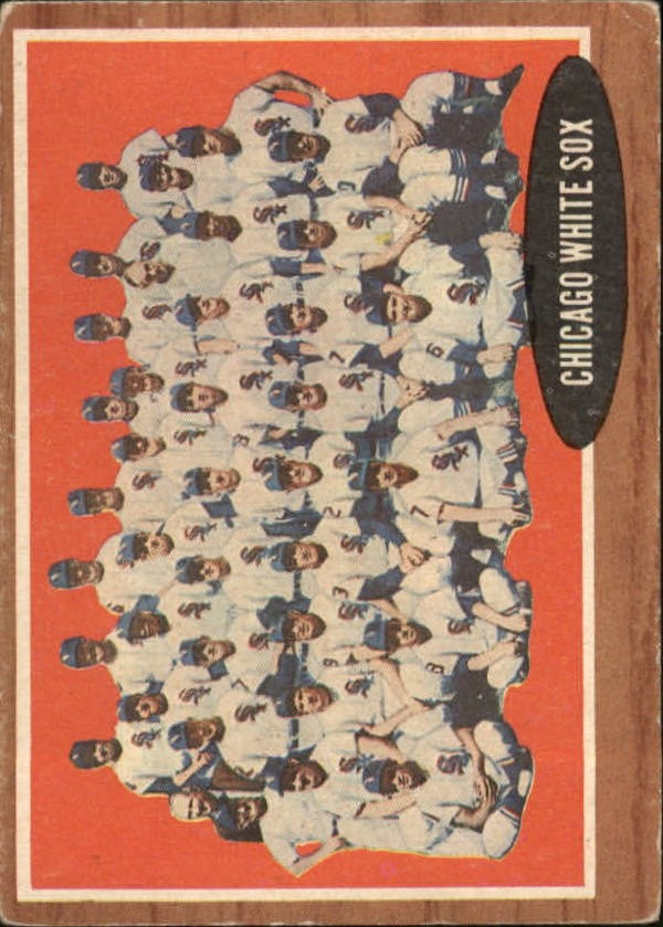 1962 Topps #113 Chicago White Sox TC