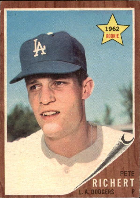 1962 Topps #131 Pete Richert RC