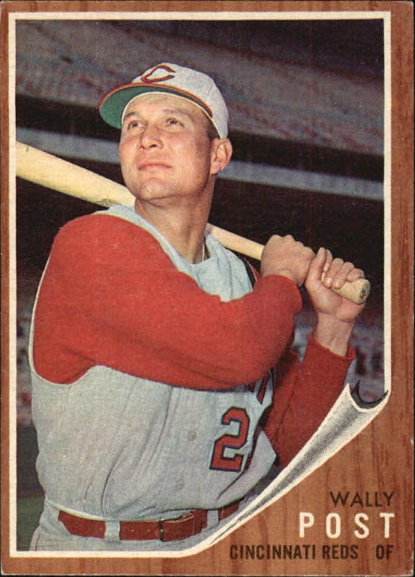 1962 Topps #148 Wally Post