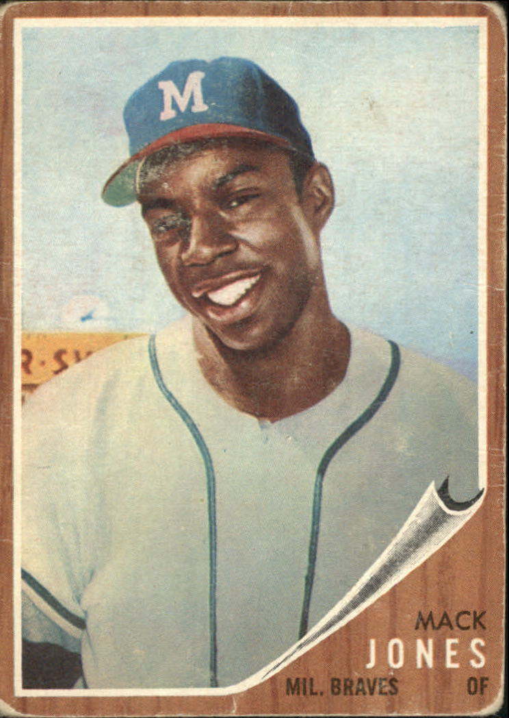 1962 Topps #186 Mack Jones RC