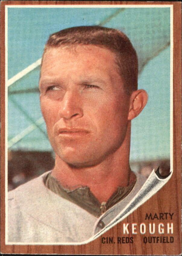 1962 Topps #258 Marty Keough