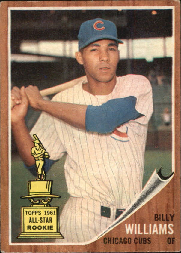 1962 Topps #288 Billy Williams