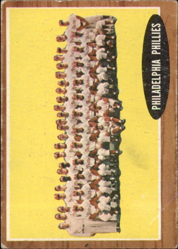 1962 Topps #294 Philadelphia Phillies TC