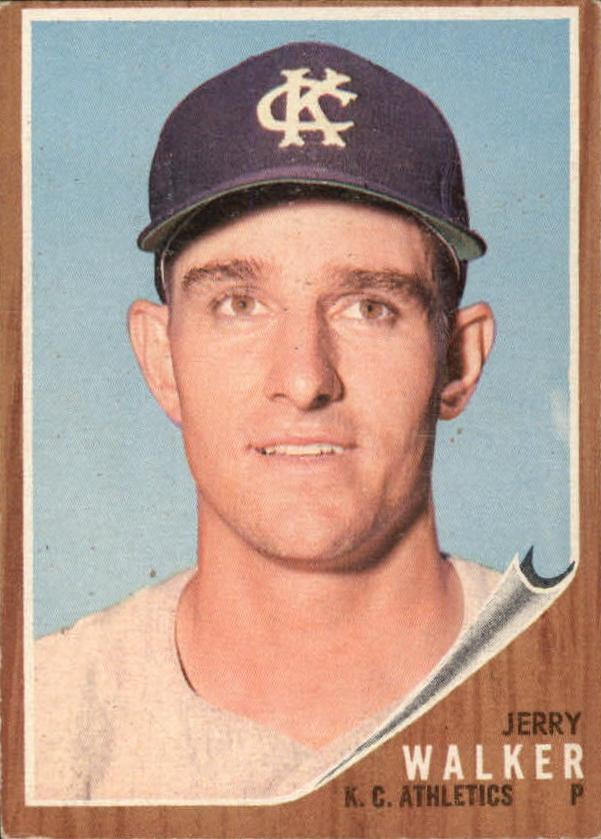 1962 Topps #357 Jerry Walker