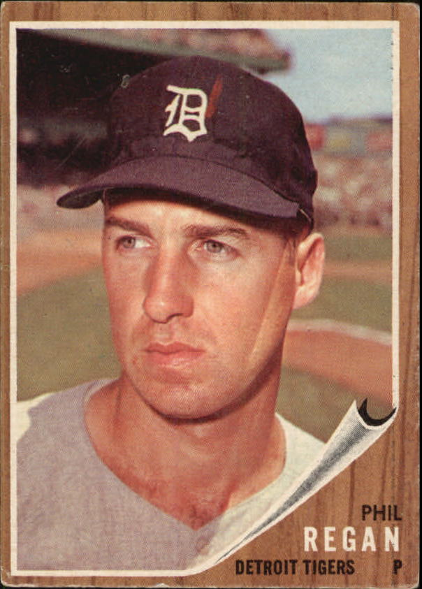 1962 Topps #366 Phil Regan