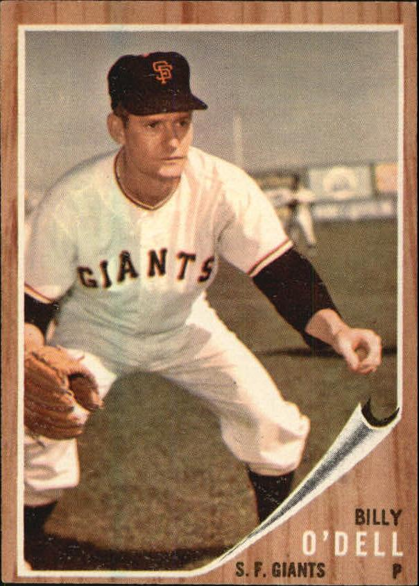 1962 Topps #429 Billy O'Dell