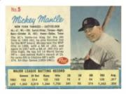 1962 Post #5B Mickey Mantle Ad Back (Life Magazine)