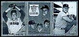 1962 Topps Advertising Panels #1 AL Home Run Leaders/Barney Schultz/Carl Sawatski
