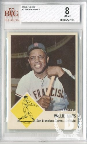1963 Fleer #5 Willie Mays