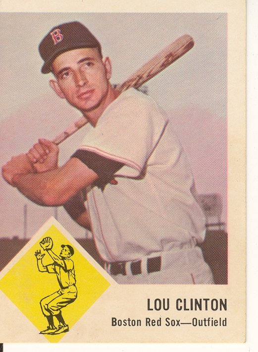 1963 Fleer #6 Lou Clinton