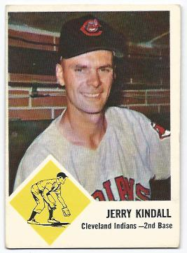 1963 Fleer #13 Jerry Kindall
