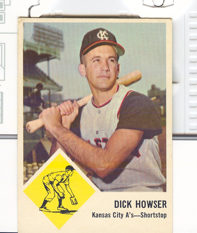 1963 Fleer #15 Dick Howser
