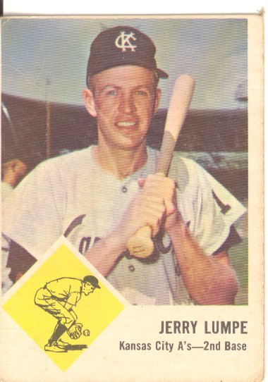 1963 Fleer #16 Jerry Lumpe