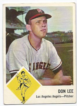 1963 Fleer #18 Don Lee