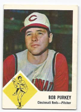 1963 Fleer #35 Bob Purkey