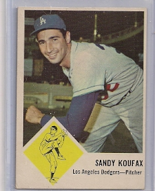 1963 Fleer #42 Sandy Koufax