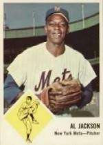 1963 Fleer #48 Al Jackson