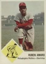 1963 Fleer #50 Ruben Amaro