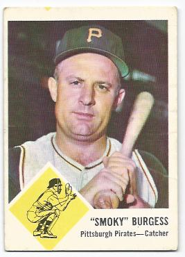 1963 Fleer #55 Smoky Burgess